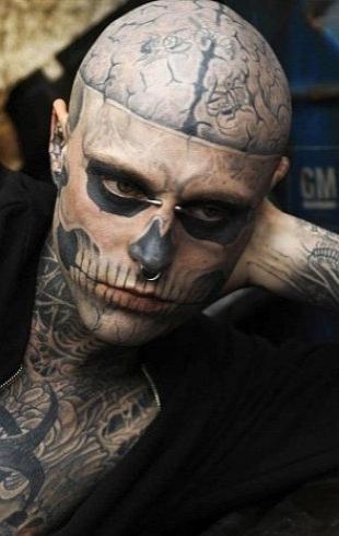 Zombie Boy: самые популярные фильмы, клипы и ролики с участием Рика Дженеста (ВИДЕО)