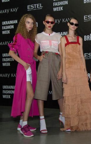 Ukrainian Fashion Week весна-лето 2019: backstage показов (часть 4)
