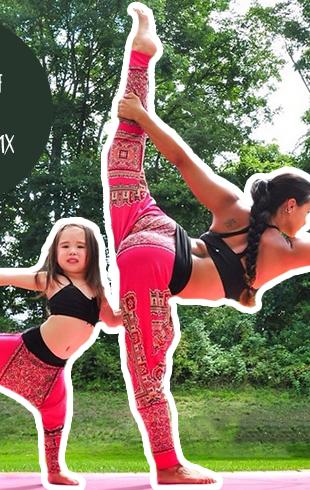 Йога для самых маленьких: 7 полезных асан для мамы и ребенка (ФОТО)
