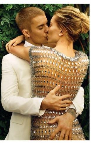Джастин Бибер и Хейли Болдуин блеснули в семейной фотосессии для Vogue (ФОТО)