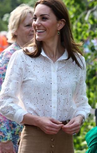 Кейт Миддлтон посетила Chelsea Flower Show: новый выход герцогини (ФОТО)