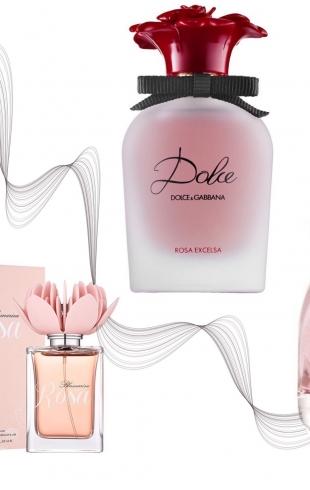Он запомнит: парфюмерия с розой на осень