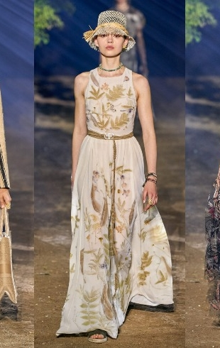 Неделя моды в Париже: романтичность и французский прованс на показе Dior (ФОТО+ВИДЕО)