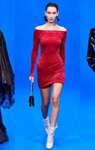 Стильная политика: Рената Литвинова и Белла Хадид на показе Balenciaga SS 2020