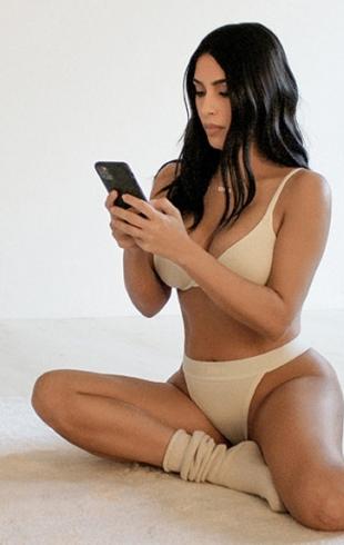Cotton Collection: Ким Кардашьян выпустила новую коллекцию нижнего белья (ФОТО)