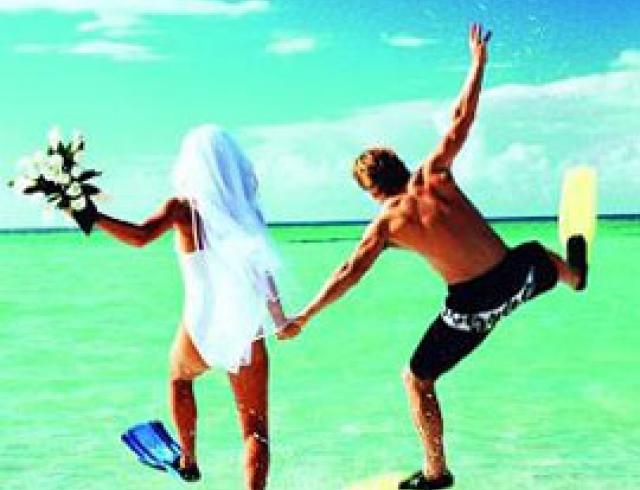 Лучшие мировые курорты для медового месяца