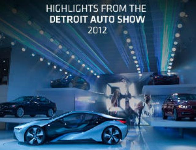 Гламурные новинки Detroit Auto Show-2012