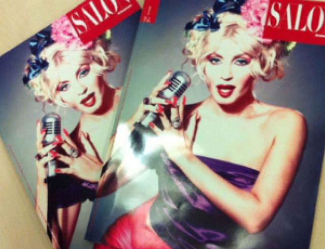 Билык попала на обложку итальянского журнала