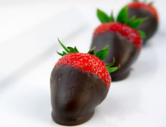 """Клубника """"чили"""" в шоколаде"""