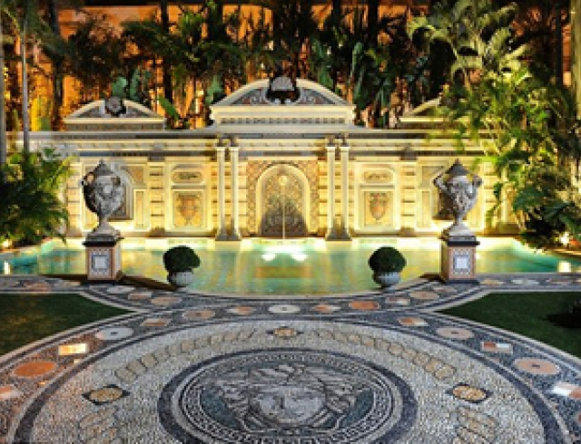 Продается роскошный особняк Джанни Версаче. Фото