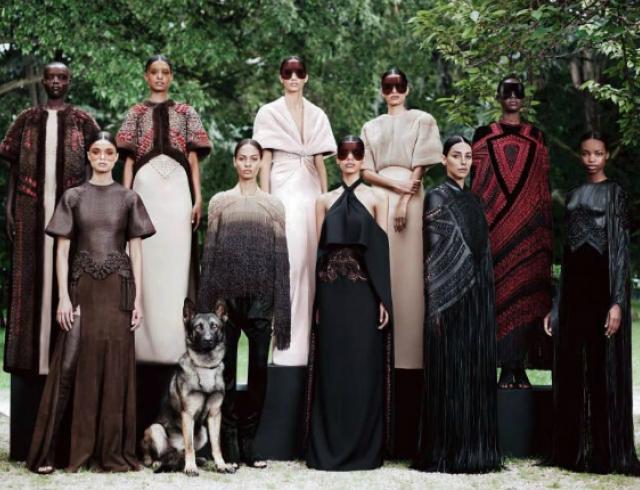 Неделя высокой моды в Париже: Givenchy