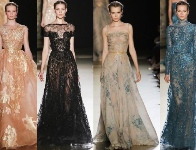 Неделя моды в Париже: показ Elie Saab