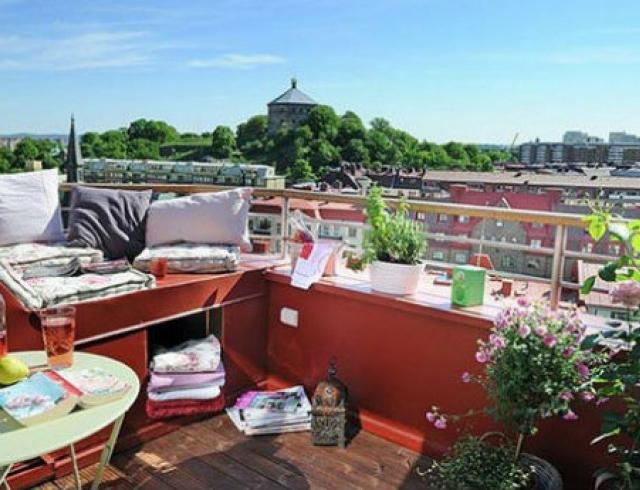 Идеи декора: красивые балконы. Фото
