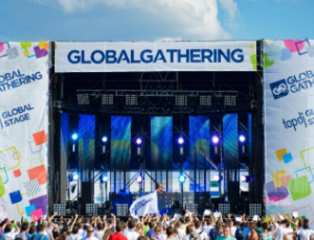 В Киеве прошел британский фестиваль Global Gathering