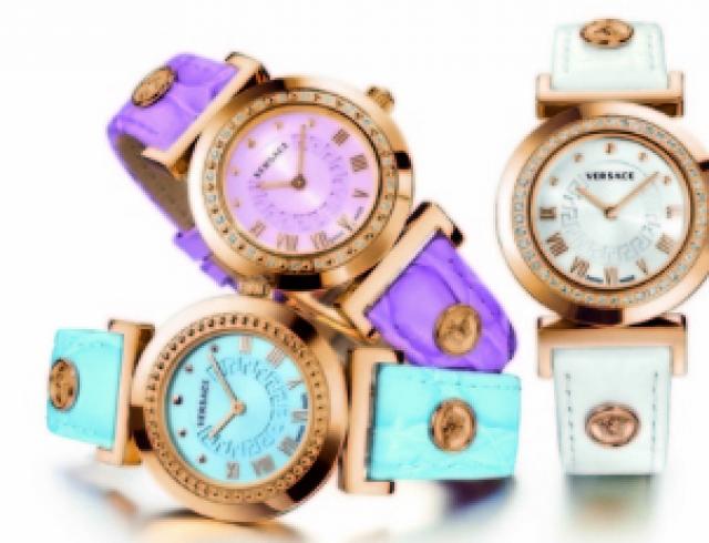 Вышла новая коллекция женских часов Versace Vanity