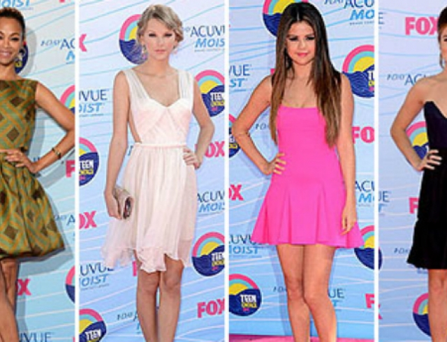 Teen Choice Awards 2012: красная дорожка и победители