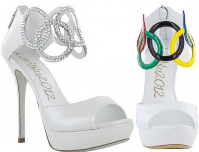 Вышла коллекция туфель, посвященная Олимпийским играм