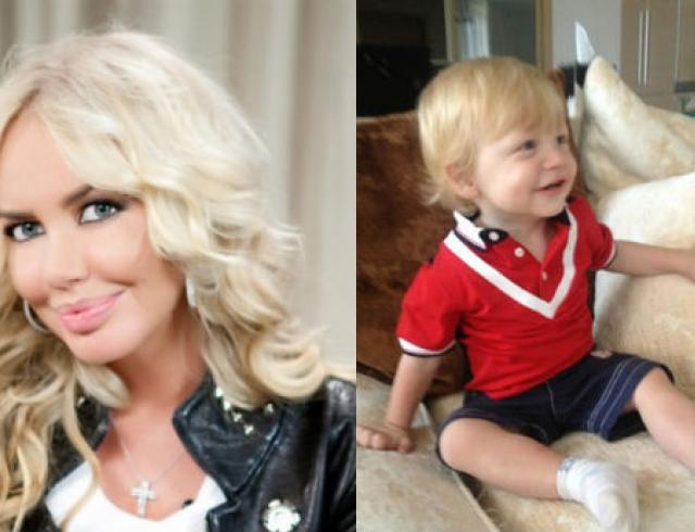 Маша Малиновская показала фото годовалого сына