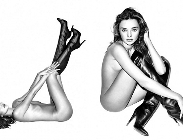 Миранда Керр: фотосессия в стиле ню