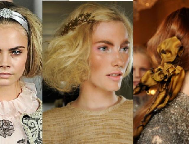 Топ 10 аксессуаров для волос осени 2012