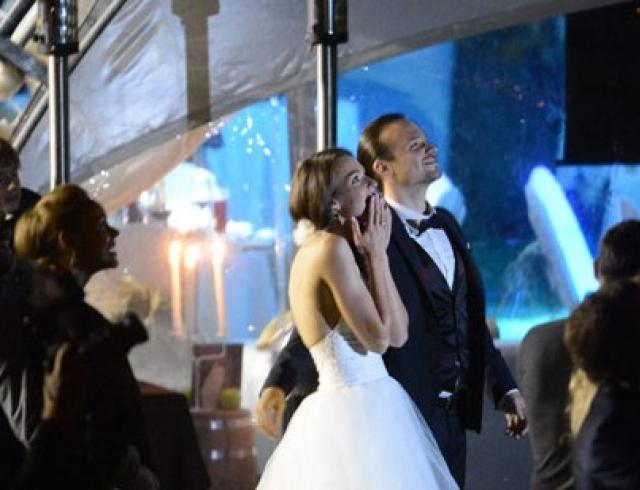 Появились первые фото со свадьбы Алексея Чадова