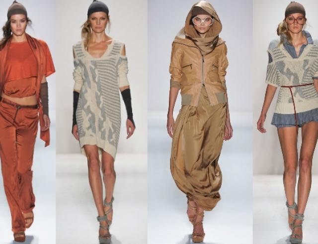 Неделя моды в Нью-Йорке: показ Nicholas K