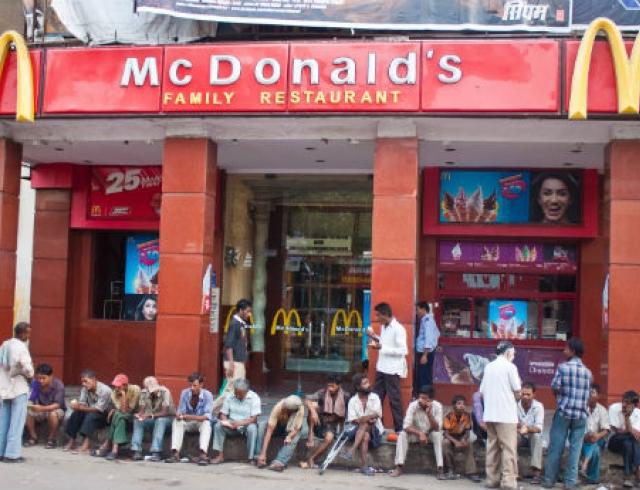 В Индии откроется первый в мире вегетарианский Макдоналдс