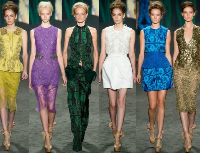 Неделя моды в Нью-Йорке: показ Vera Wang