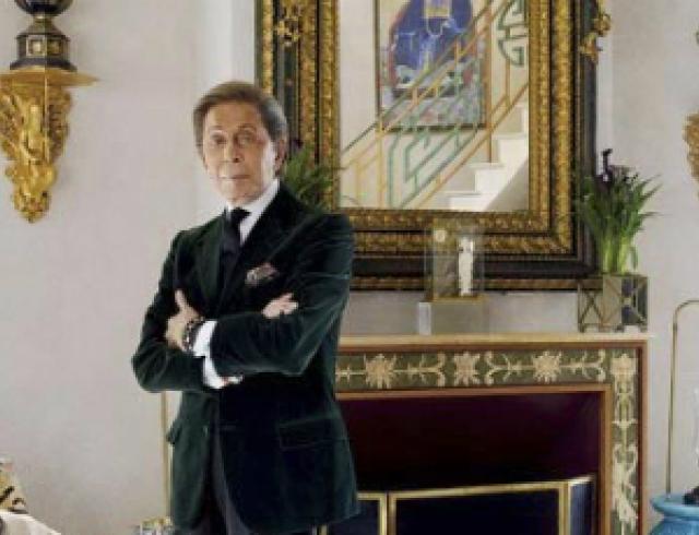 Валентино показал свой парижский особняк. Фото