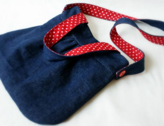 Мастер-класс: сумка из джинсов
