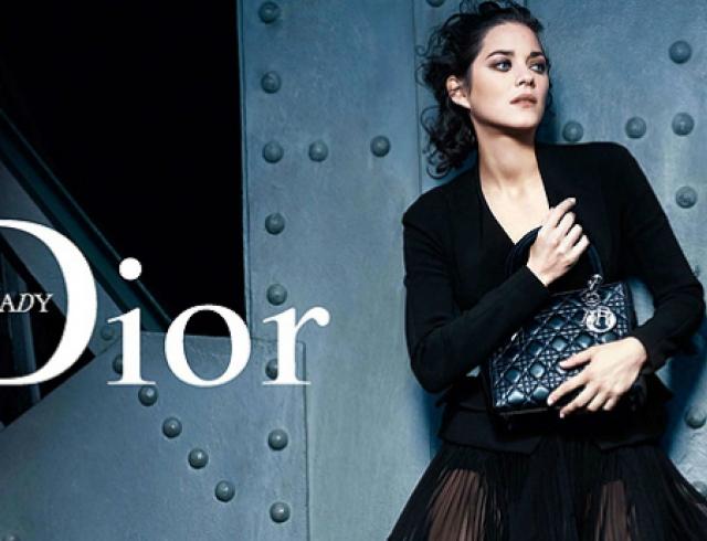 Марион Котийяр стала дизайнером сумки Dior