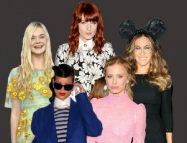 Самые стильные звезды 2012 года