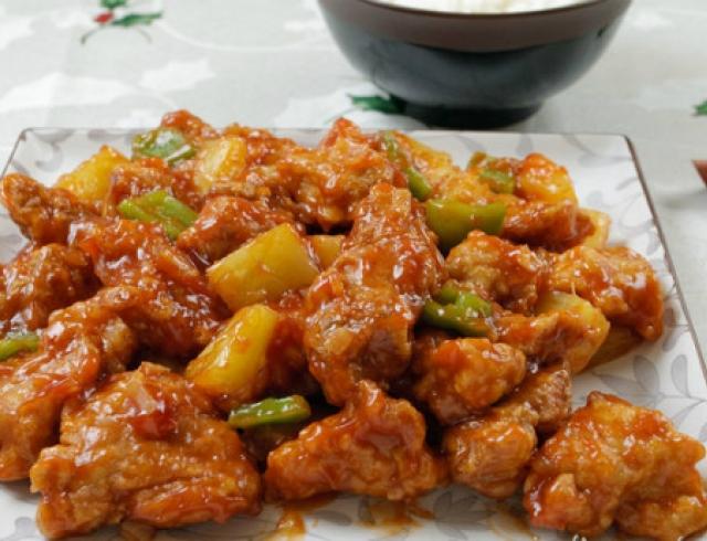 Мастер-класс: кисло-сладкое мясо «гулао роу»