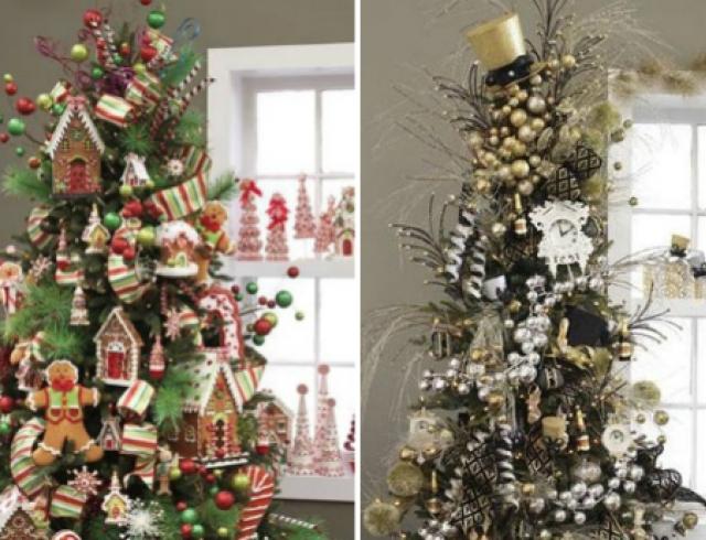 Новогодняя елка: 20 вариантов декора
