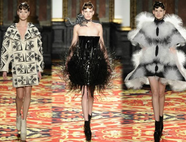 Неделя высокой моды в Париже: Iris Van Herpen s/s 2013