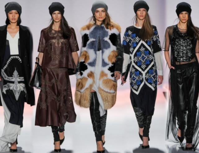Неделя моды в Нью-Йорке: показ BCBG Max Azria f/w 2013-2014