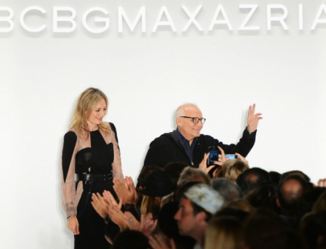Показ BCBG Max Azria fall-winter 2013-2014. Видео