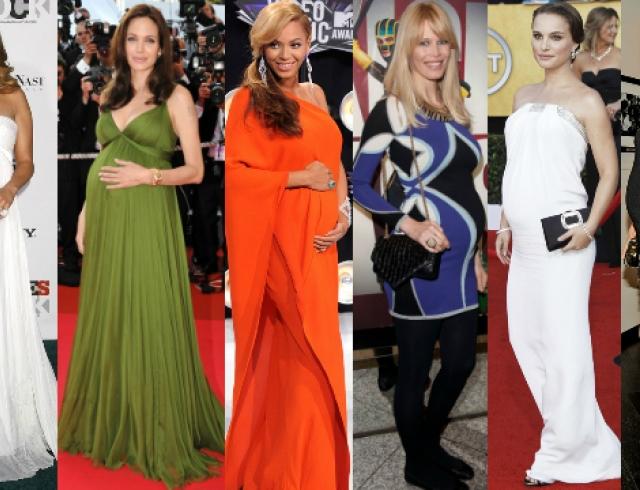 Лучшие образы беременных знаменитостей. Фото