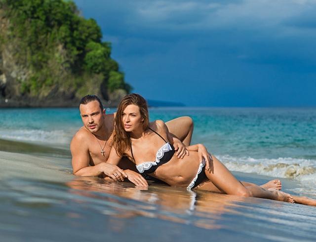Дитковските и Чадов провели медовый месяц на Бали. Фото