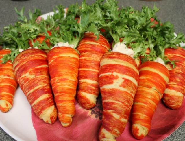 Как научиться красиво оформлять простые блюда?
