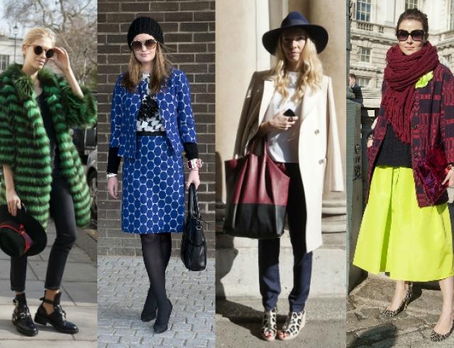 Street style на Неделе моды в Лондоне. Часть 2