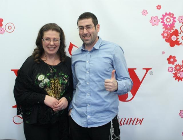 Ицхак Пинтосевич и Александра Маринина рассказали секреты творчества
