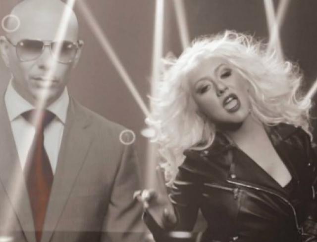 Кристина Агилера и Pitbull сняли совместный клип. Видео