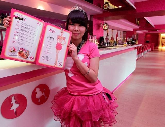 На Тайвани открылось Barbie Cafe