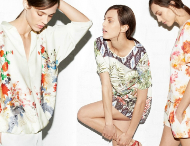 Апрельский лукбук от бренда Zara