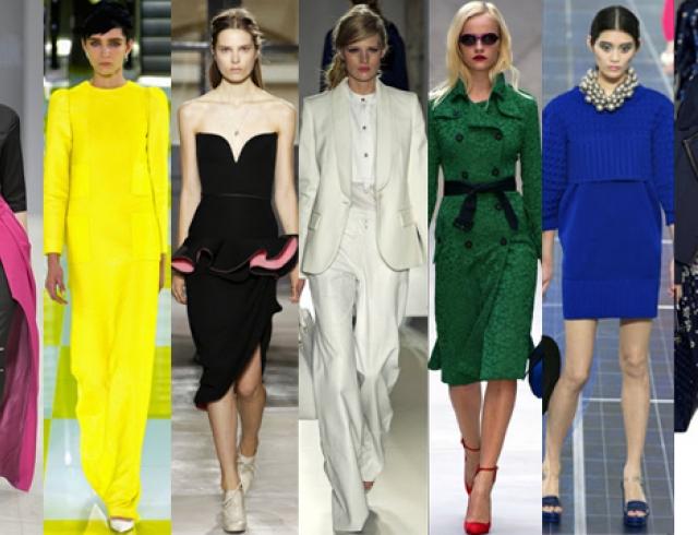 Модные цвета весны-лета 2013: советы дизайнера