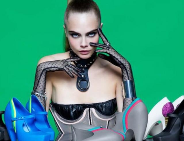 Лагерфельд представил коллекцию обуви Karl Lagerfeld for Melissa
