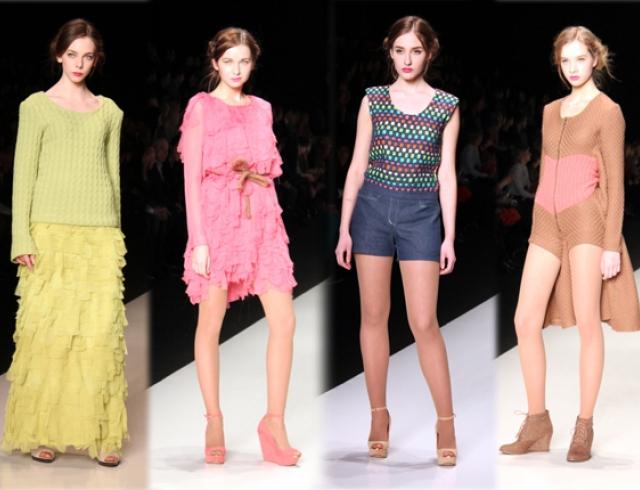 Mercedes-Benz Fashion Week Russia: Екатерина Илюхина