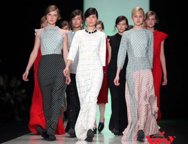 Лилия Пустовит показала коллекцию на Fashion Week Russia