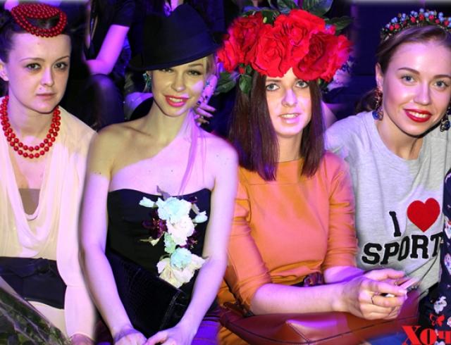 Гости показа POUSTOVIT на Fashion Week Russia
